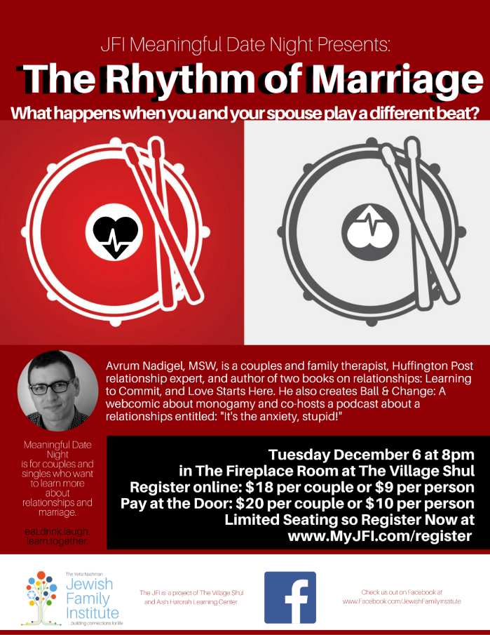 The Rhythm of Marriage with Avrum Nadigel – Meaningful Date Night