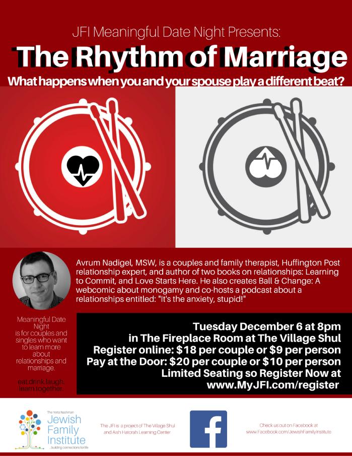 The Rhythm of Marriage with Avrum Nadigel – Meaningful DateNight